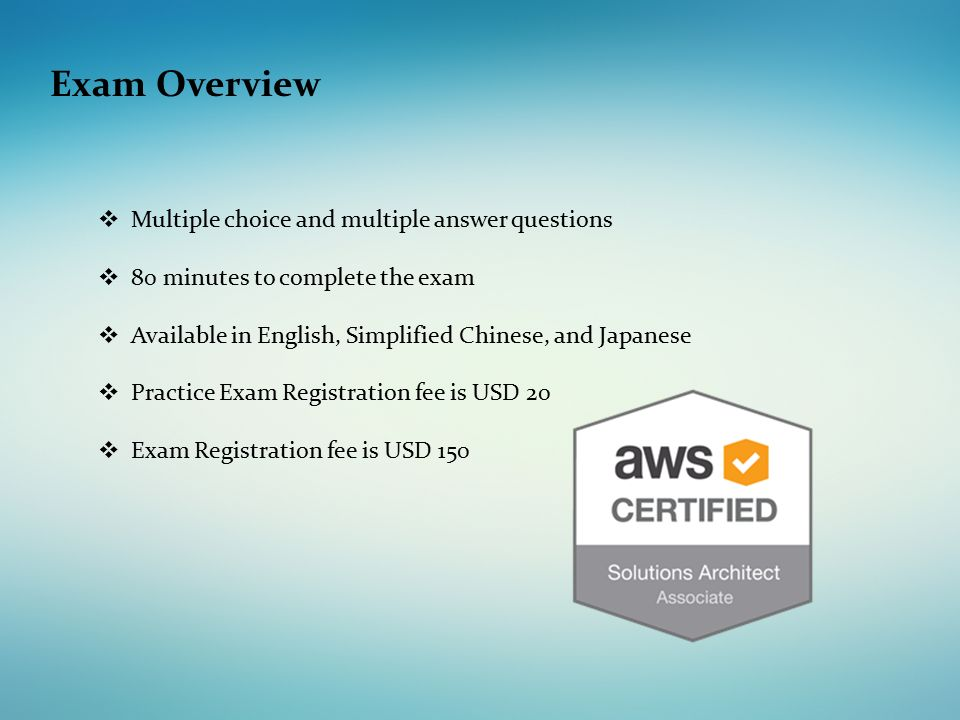 Aws Mcq Questions And Answers