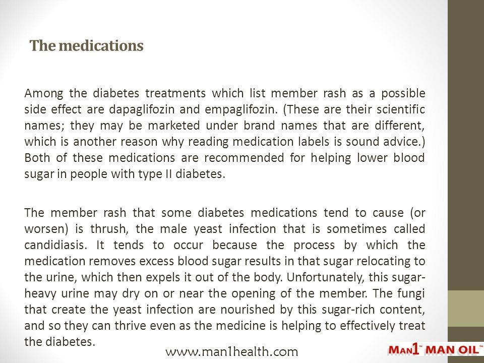 Member Rash Check Your Diabetes Medicine Ppt Download