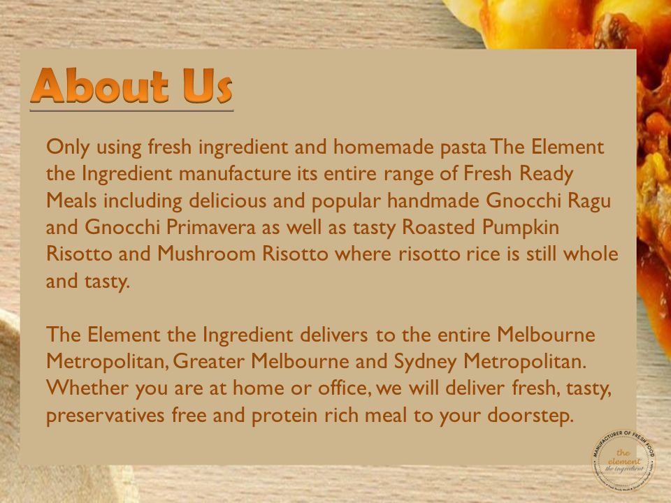 Ready made meals home delivery ppt download 2 only forumfinder Images