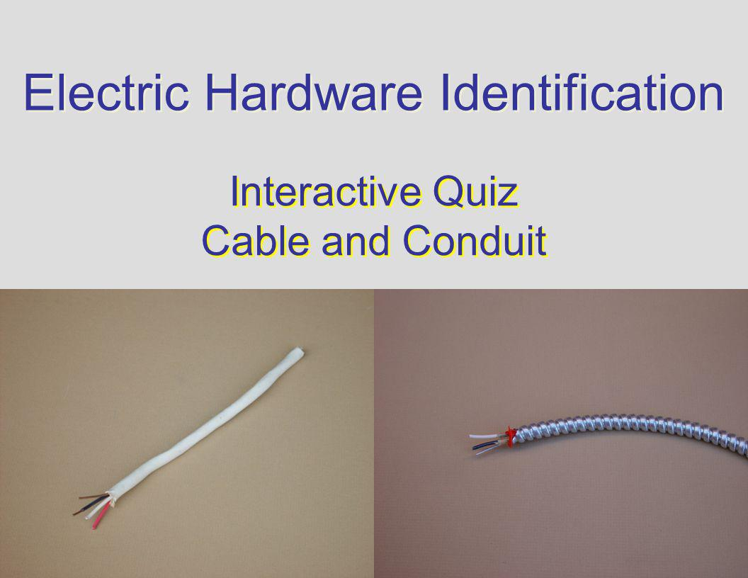 Strange Electric Hardware Identification Interactive Quiz Cable And Conduit Wiring Cloud Hisonuggs Outletorg