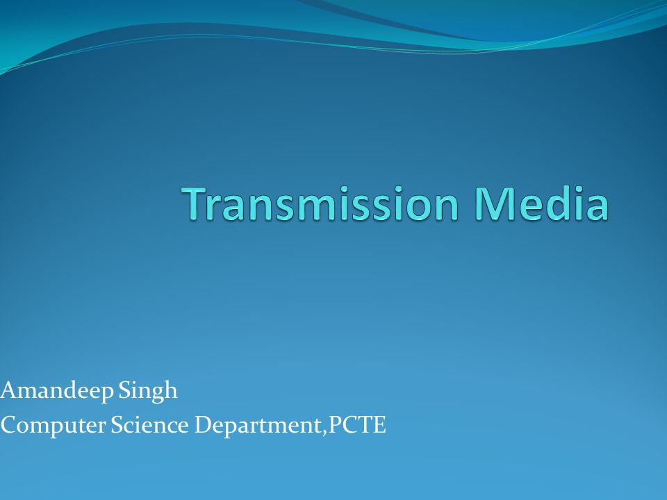 Amandeep Singh Computer Science Department,PCTE
