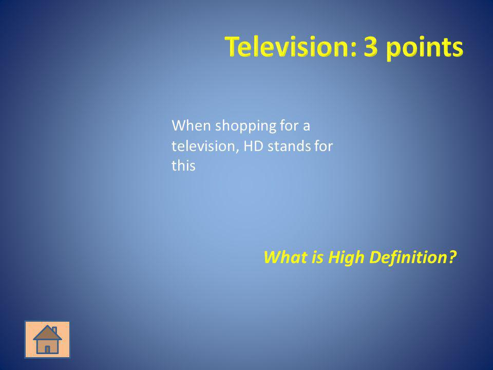 What is High Definition
