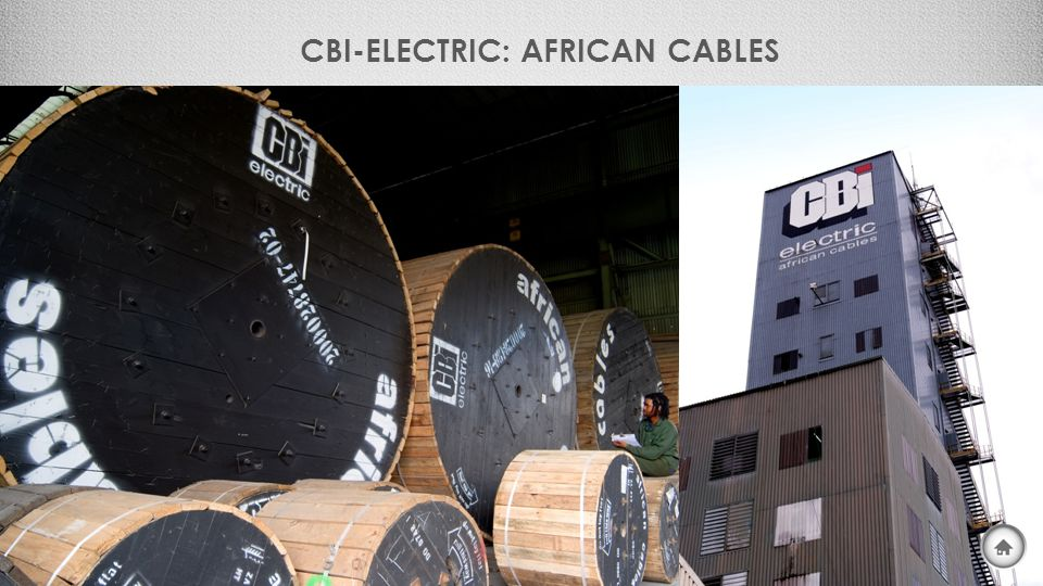CBI-ELECTRIC: AFRICAN CABLES