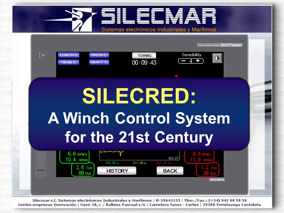 SILECRED: A Winch Control System for the 21st Century