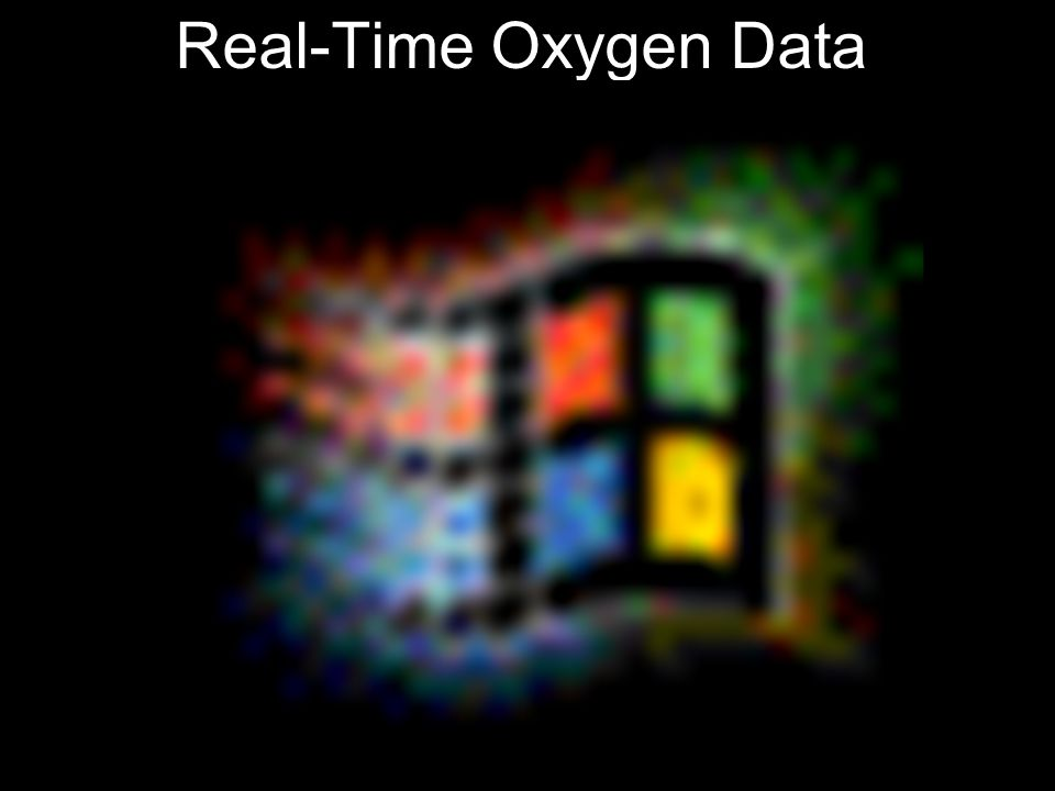 Real-Time Oxygen Data
