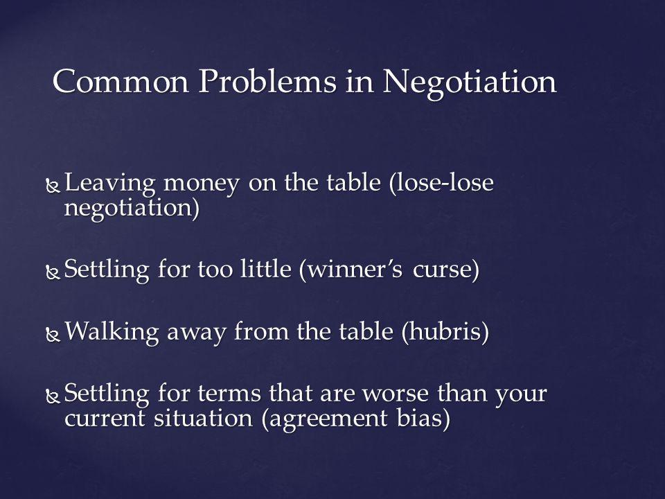 Negotiations Judgments And Decisions Psych 253 Negotiation A