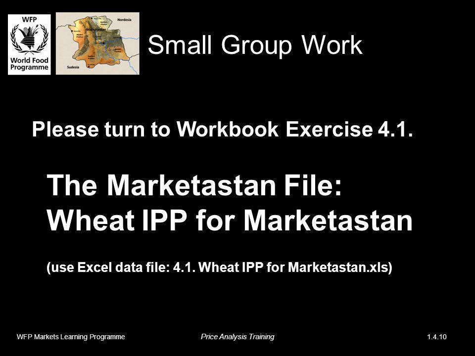 Please turn to Workbook Exercise 4.1.