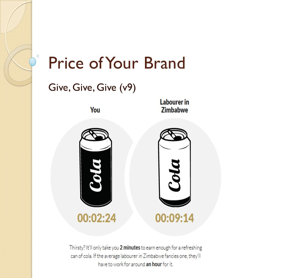 Price of Your Brand Give, Give, Give (v9) http://www.globalrichlist.com/ to gain eternality to gain friends