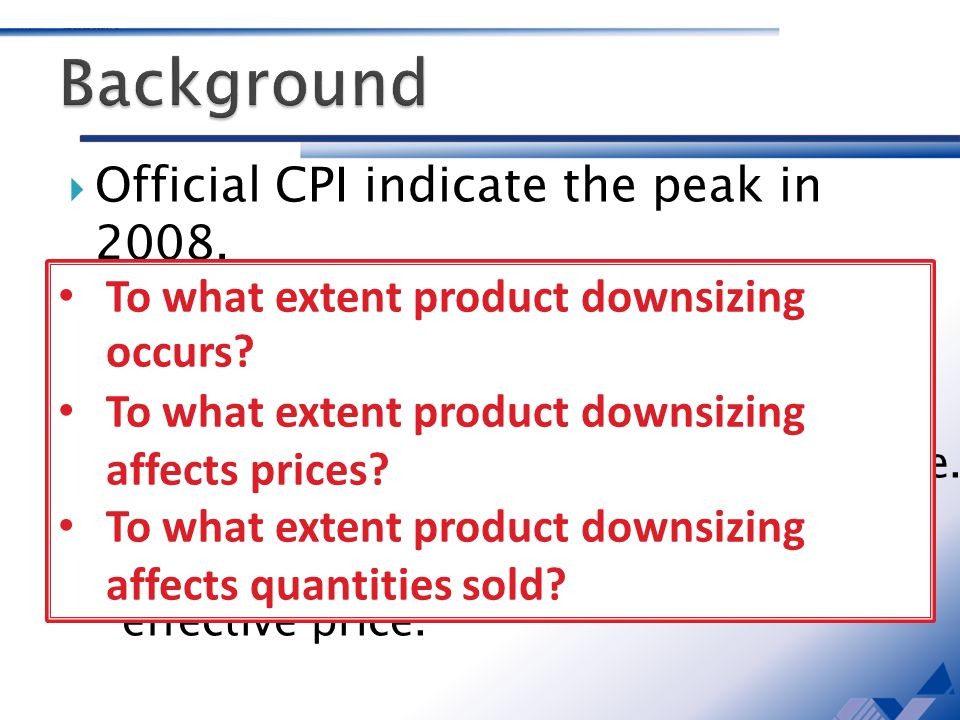 Official CPI indicate the peak in 2008.