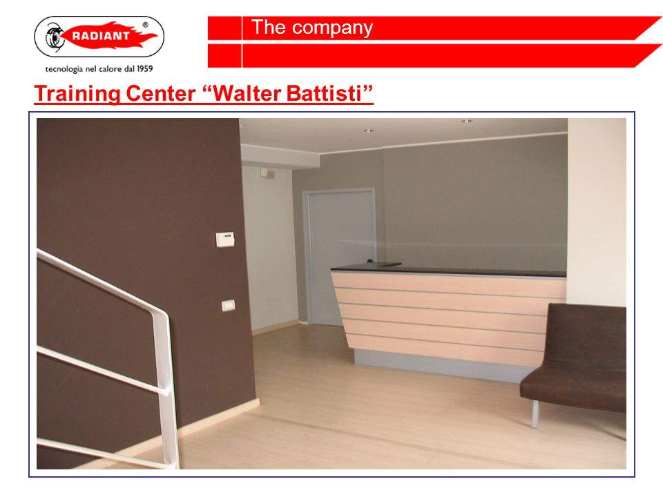 Training Center Walter Battisti