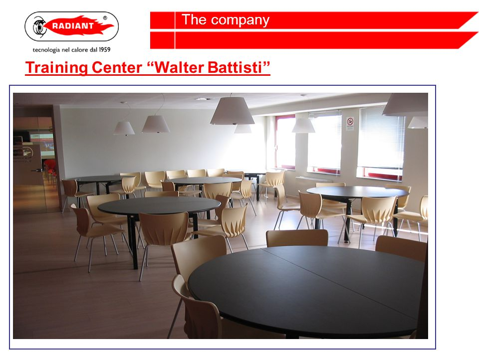 The company Training Center Walter Battisti