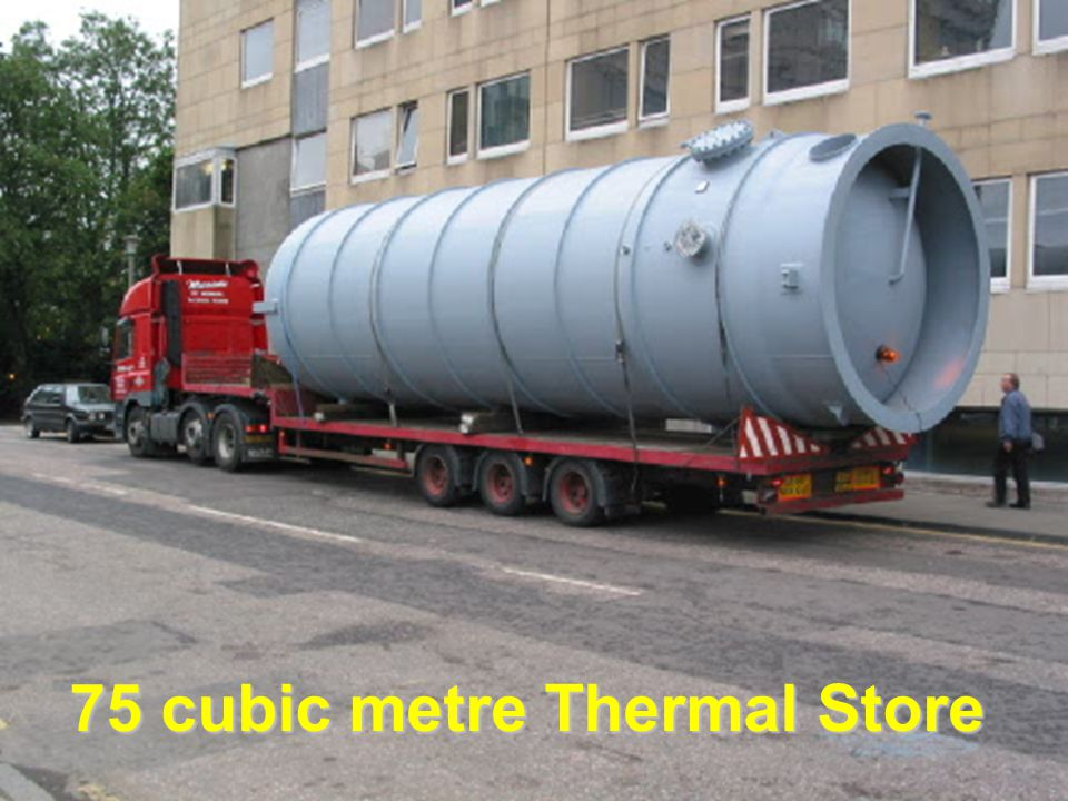 75 cubic metre Thermal Store