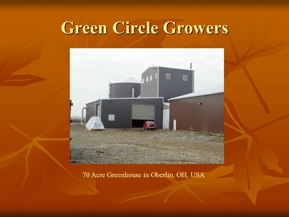 Green Circle Growers 70 Acre Greenhouse in Oberlin, OH, USA