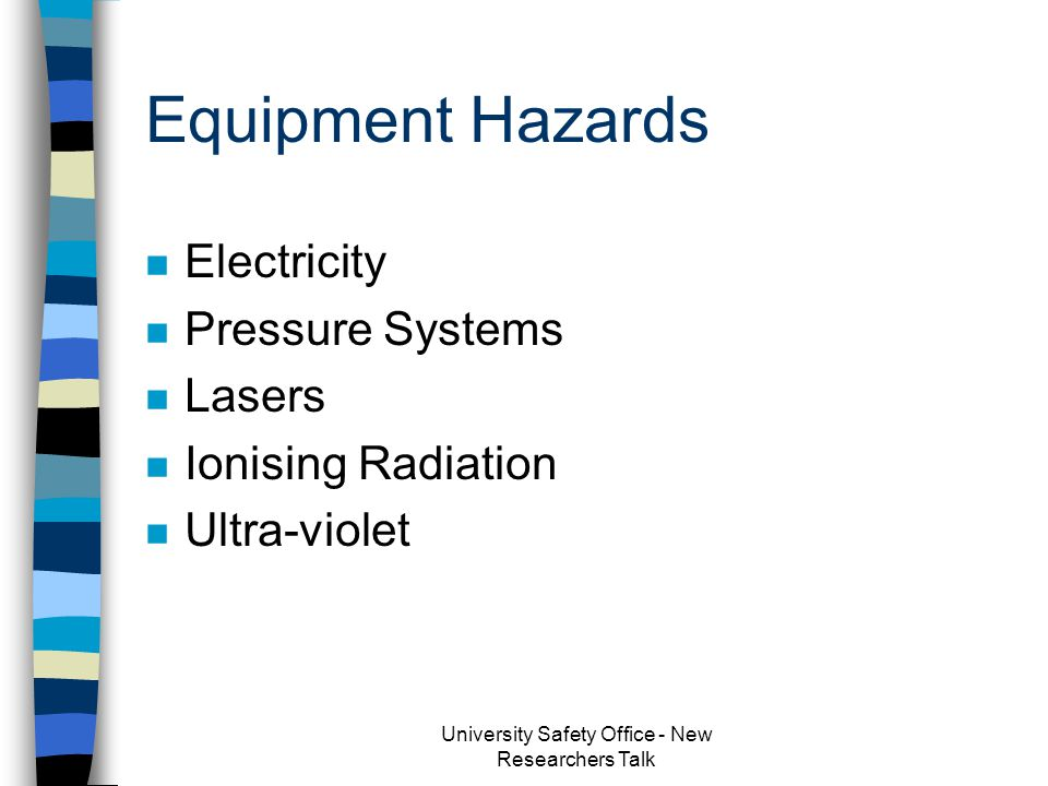 Cryogenic Liquids n HAZARD: Asphyxiation – 143ml LN/m 3 : 1:700) –confined spaces, DO NOT TRAVEL IN LIFT n HAZARD: Cold Burns –eye protection - goggles/visors/specs –hands - non absorbent insulated gloves eg leather.
