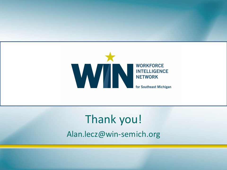 Thank you! Alan.lecz@win-semich.org