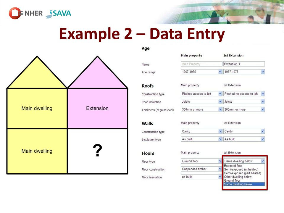 Example 2 – Data Entry