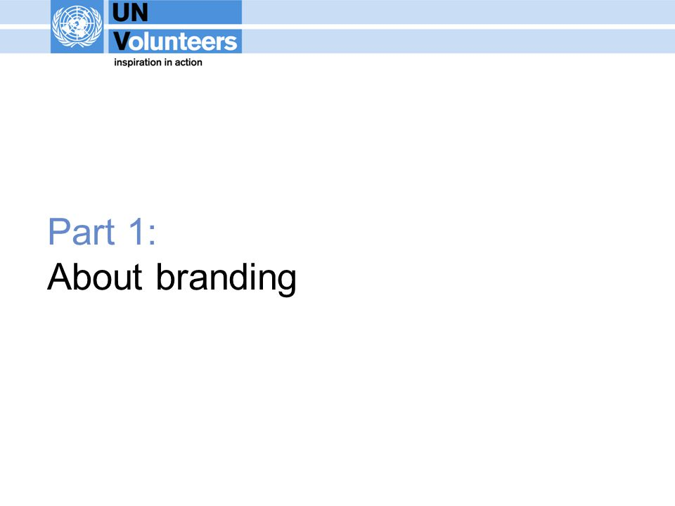 Part 1: About branding