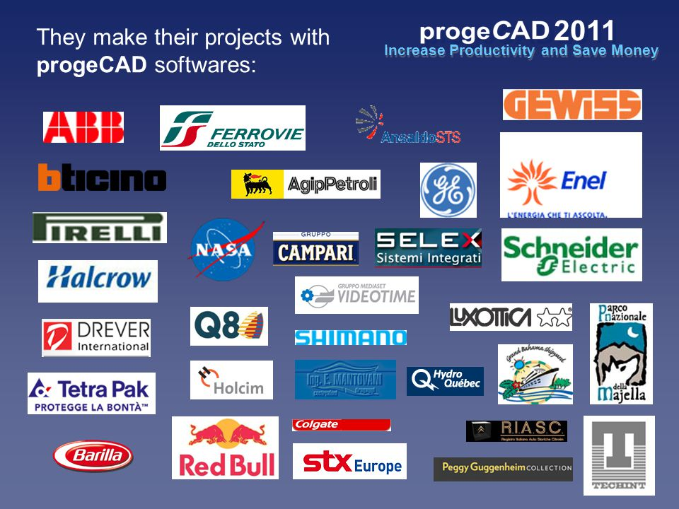 They make their projects with progeCAD softwares: Increase Productivity and Save Money