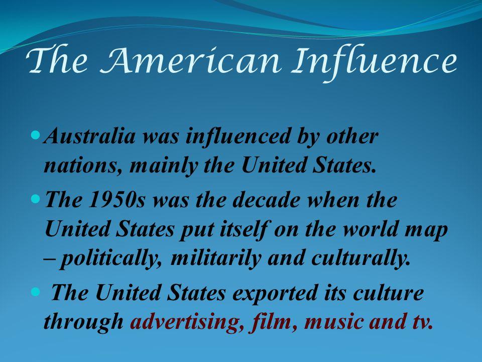 american influence on australian culture