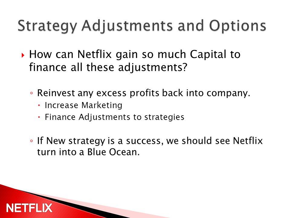 netflix blue ocean strategy