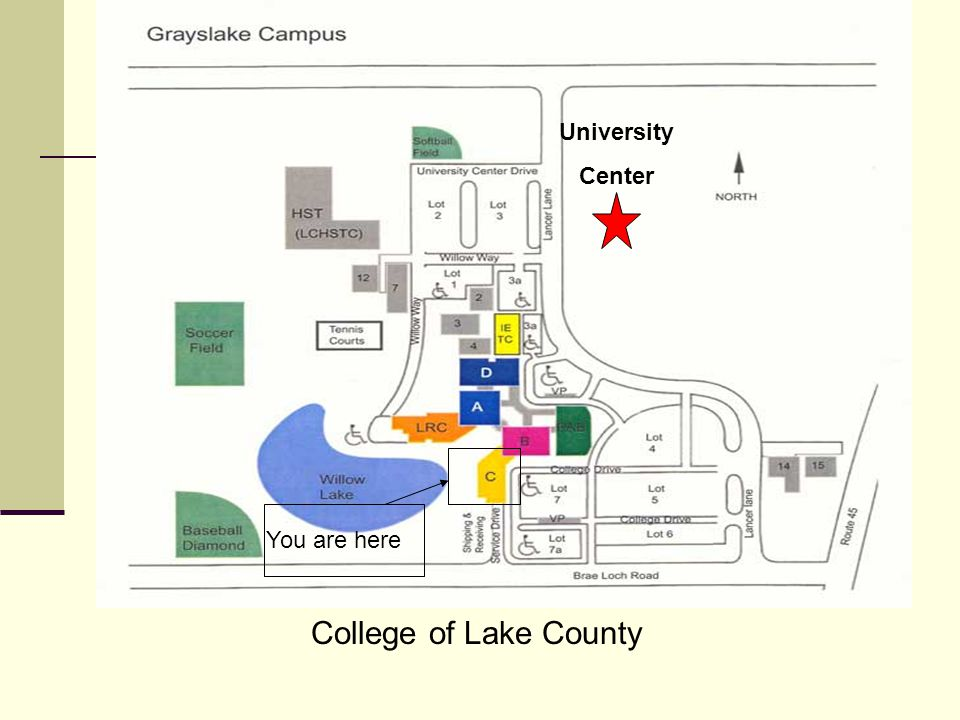 College of Lake County University Center You are here