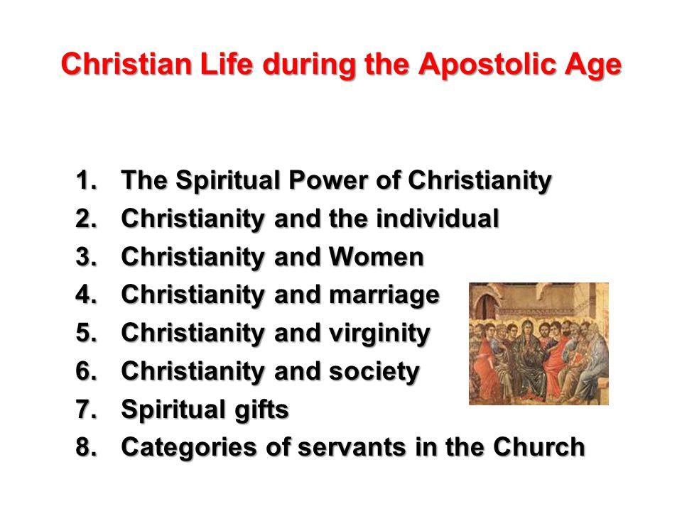 1 Christian ...