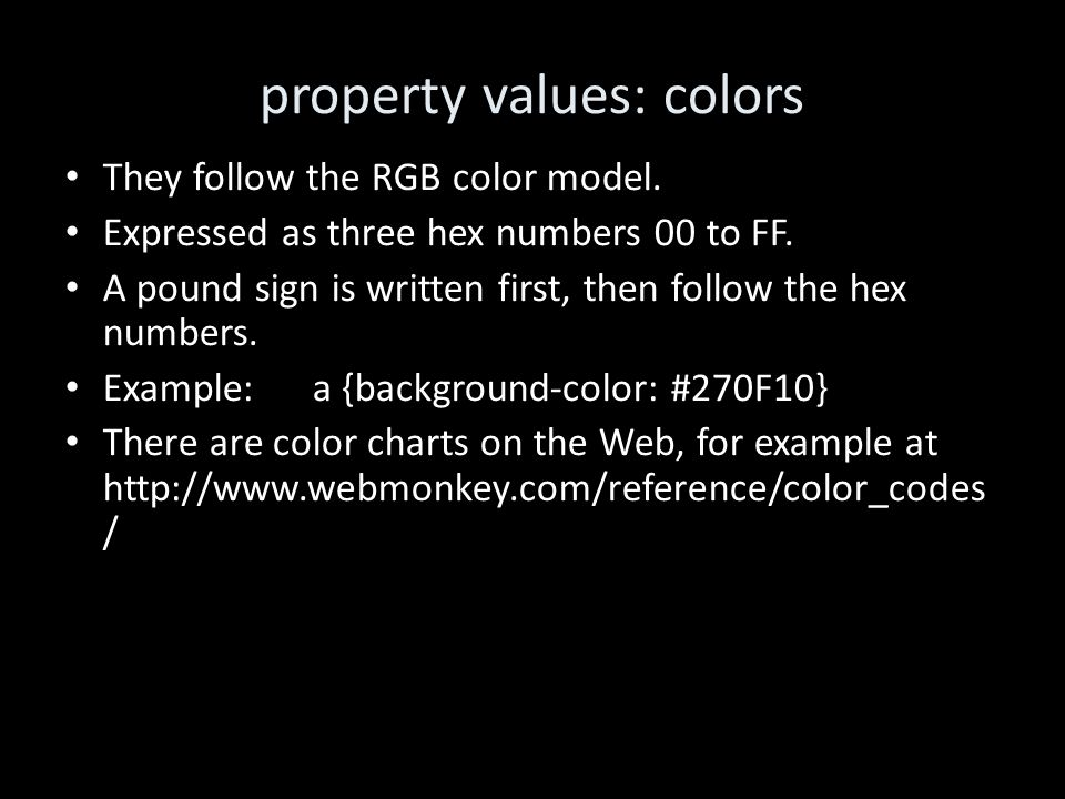 Lis650part 2 The Html Css And Tables Thomas Krichel Ppt Download