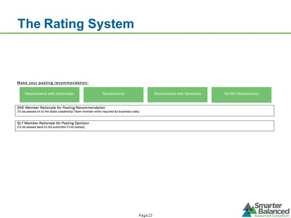 The Rating System Page 23