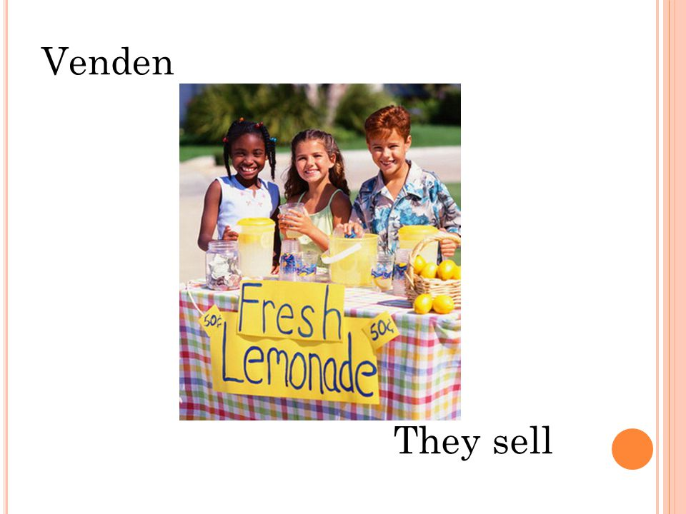 Venden They sell
