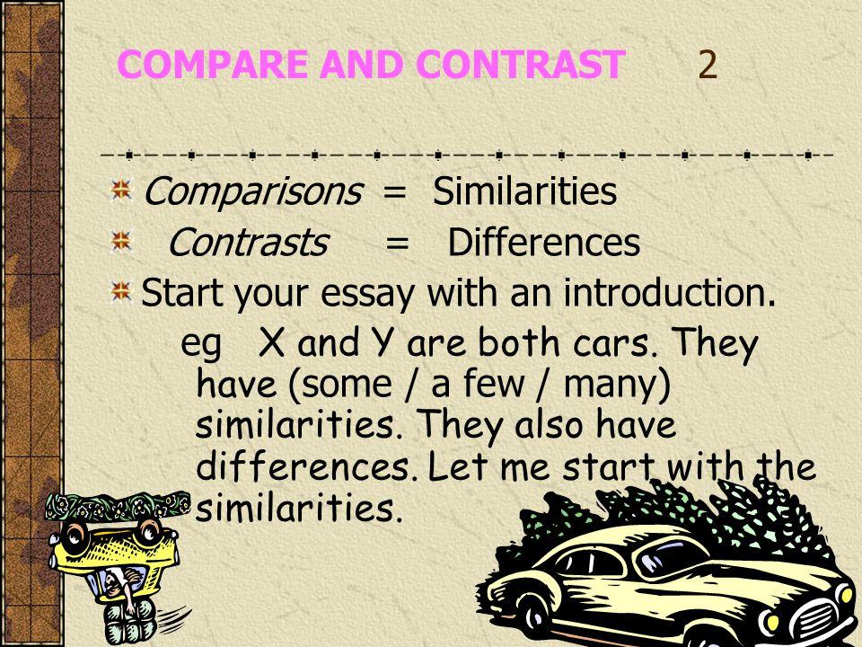 car performance comparison