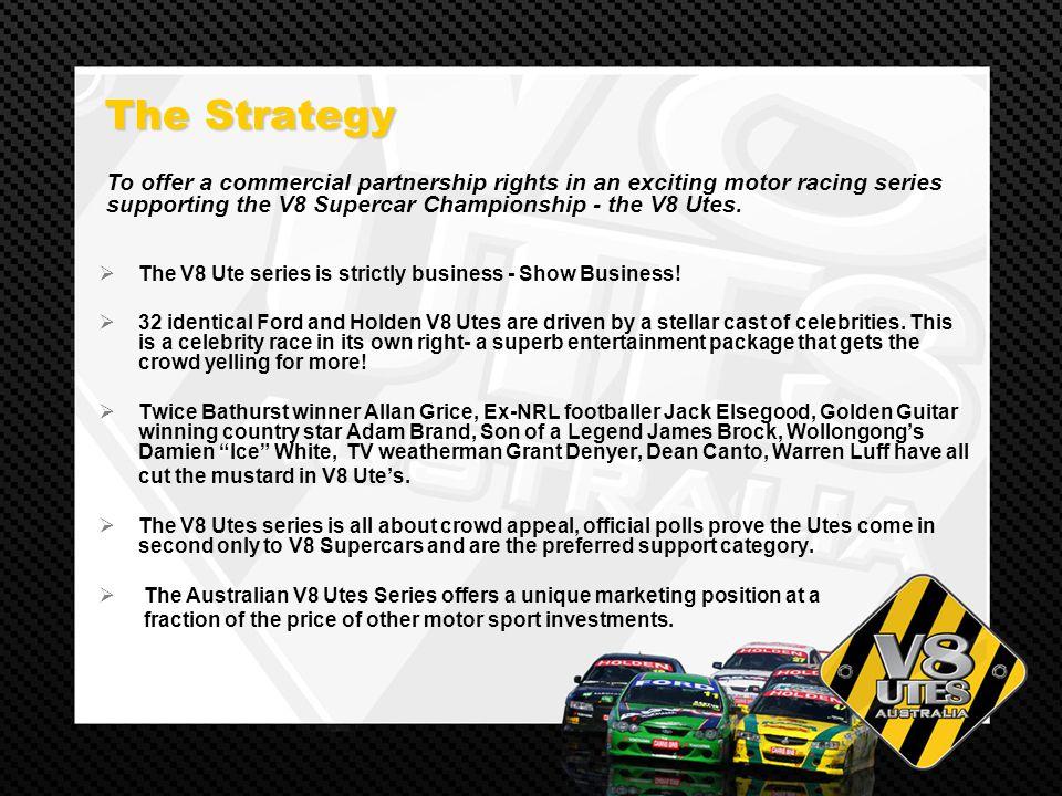 Australian V8 Ute Racing  The Aim The Aim Mass media exposure