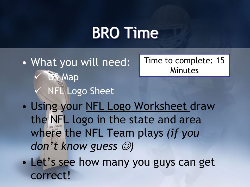 Bro Time What You Will Need Us Map Nfl Logo Sheet Using Your Nfl - Us-map-nfl-teams