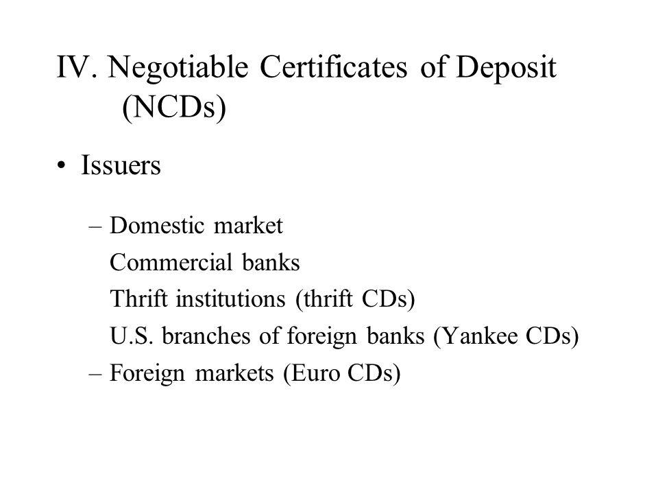 Money Markets. I. Money Market Securities Definition Money market ...