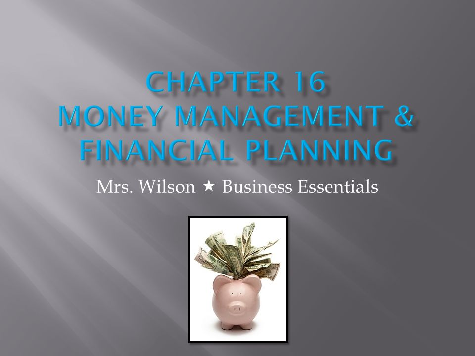 Mrs. Wilson Business Essentials