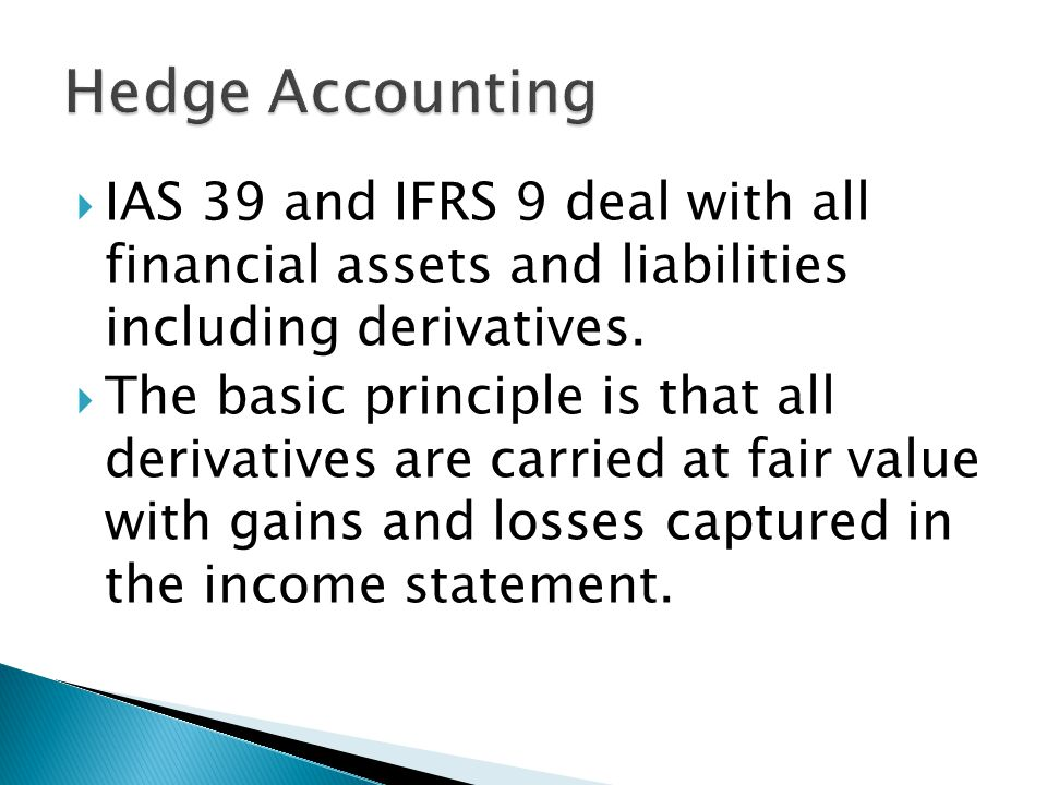 IAS 39 and IFRS 9 deal with all financial assets and liabilities including derivatives.