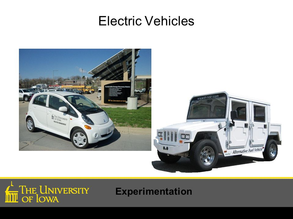 Electric Vehicles Experimentation