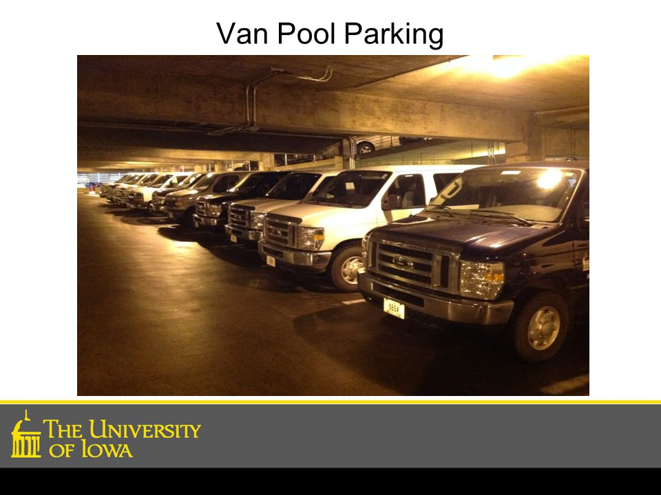 Van Pool Parking