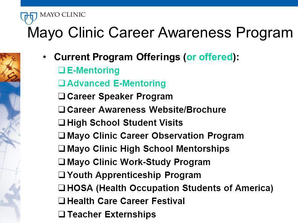 Mayo Clinic Externship