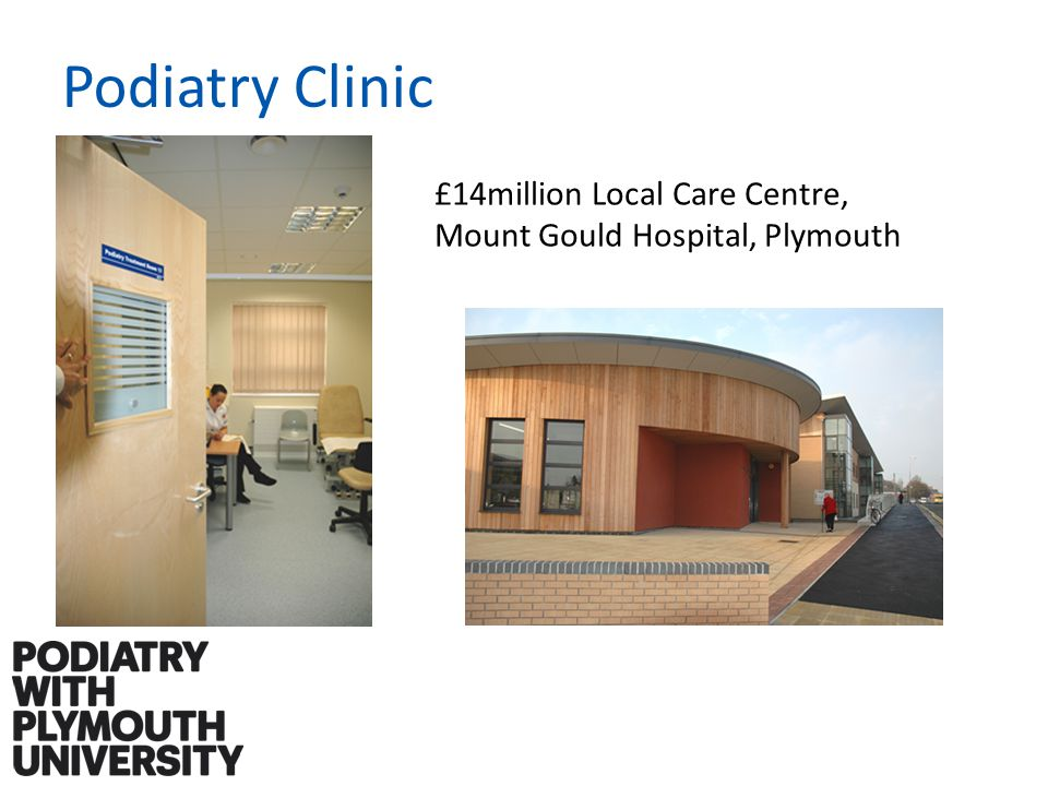 Podiatry Clinic £14million Local Care Centre, Mount Gould Hospital, Plymouth