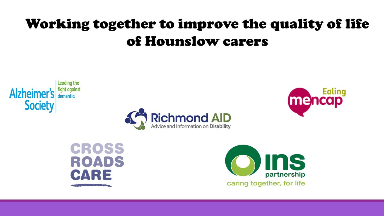 Working together to improve the quality of life of Hounslow carers