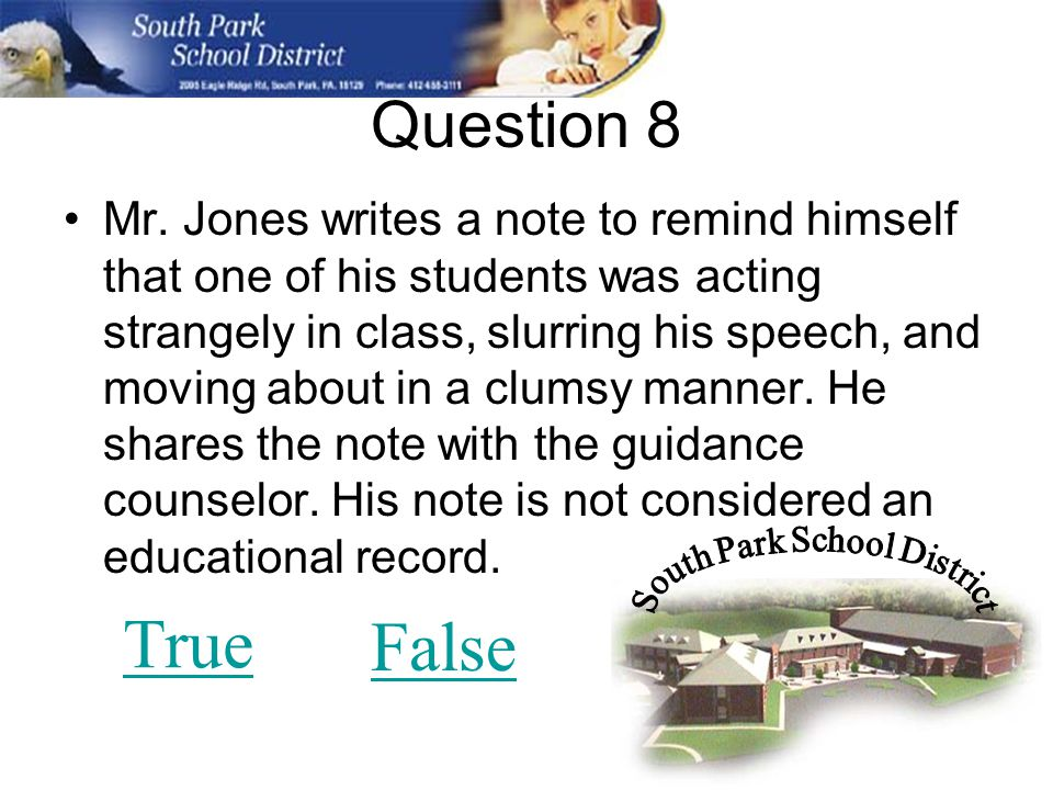 Question 8 Mr.