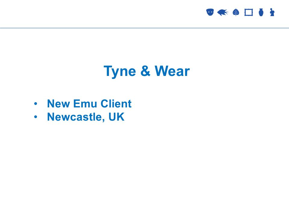 Collections Management Tyne & Wear New Emu Client Newcastle, UK