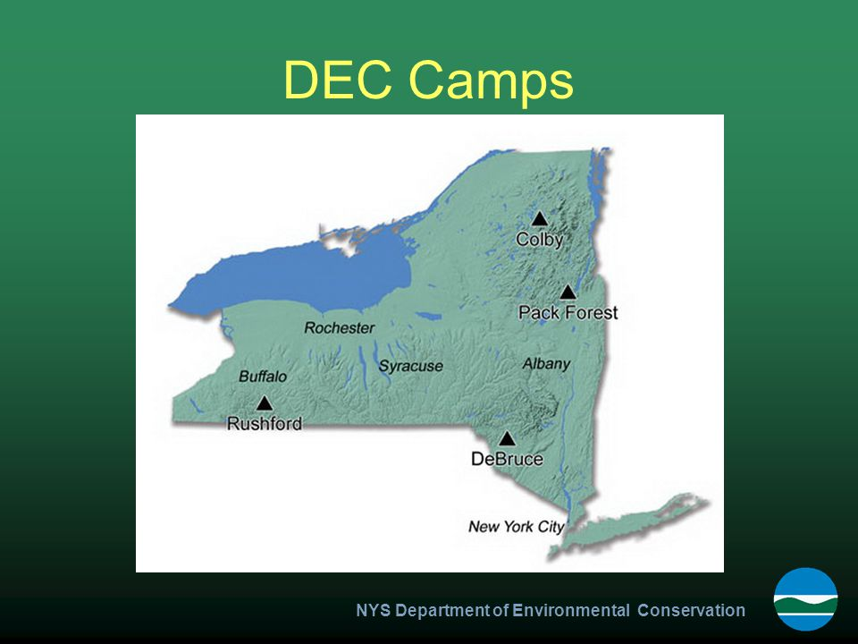 NYS Department of Environmental Conservation DEC Camps