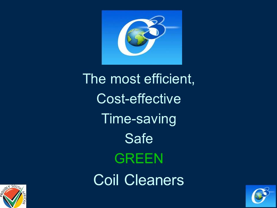 The most efficient, Cost-effective Time-saving Safe GREEN Coil Cleaners