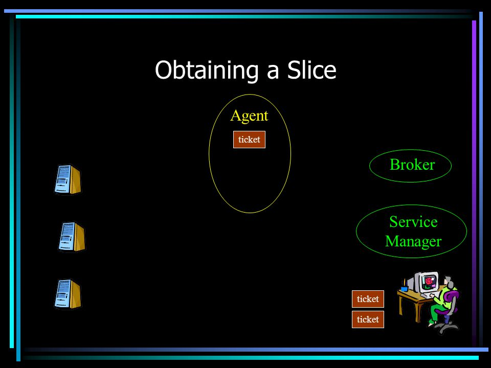 Obtaining a Slice Agent Service Manager Broker ticket