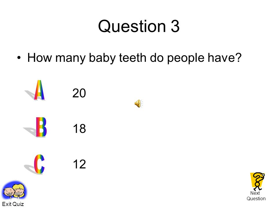 Children's Quiz ! \ Play Quiz Time! Show me the questions