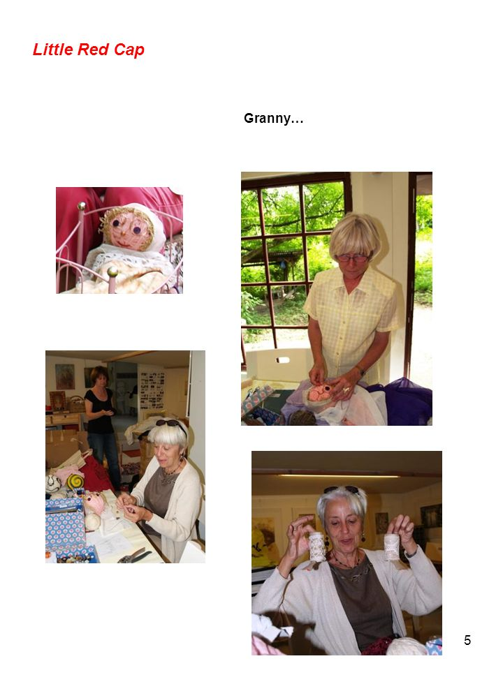 5 Little Red Cap Granny…