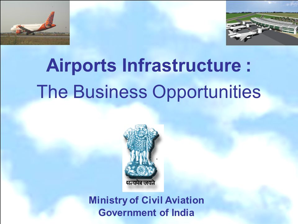 Ministry of Civil Aviation Government of India Airports