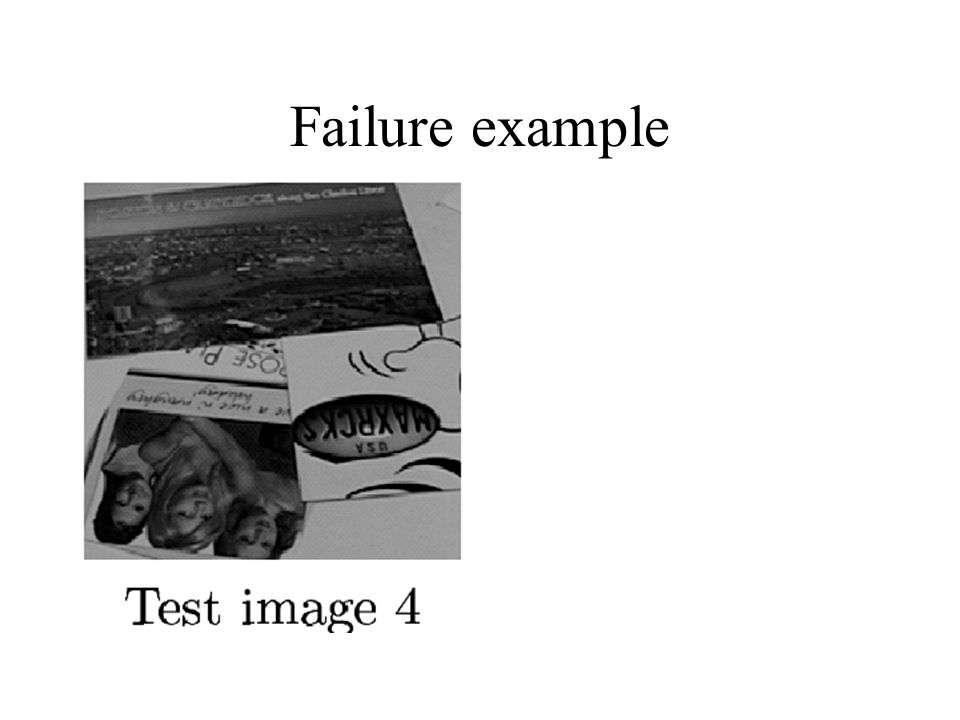 Failure example