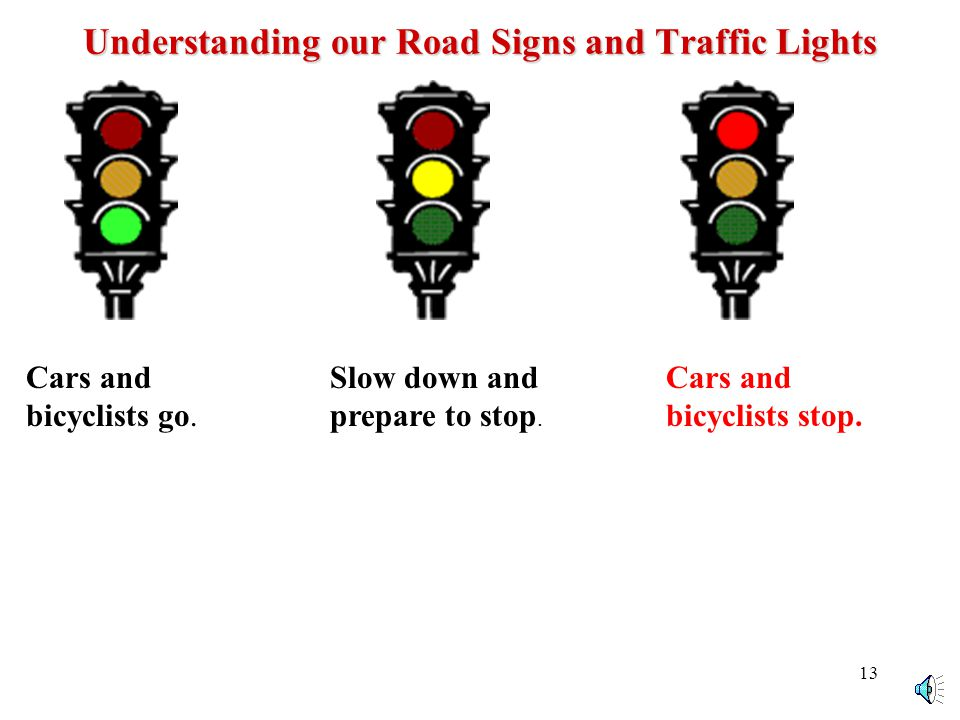 12 Signal Turns You must use hand signals to let people know you plan to stop or turn.
